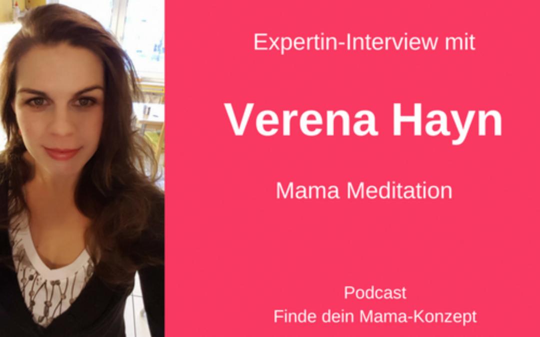 #011 Expertin-Interview Verena Hayn (MamaMeditation)